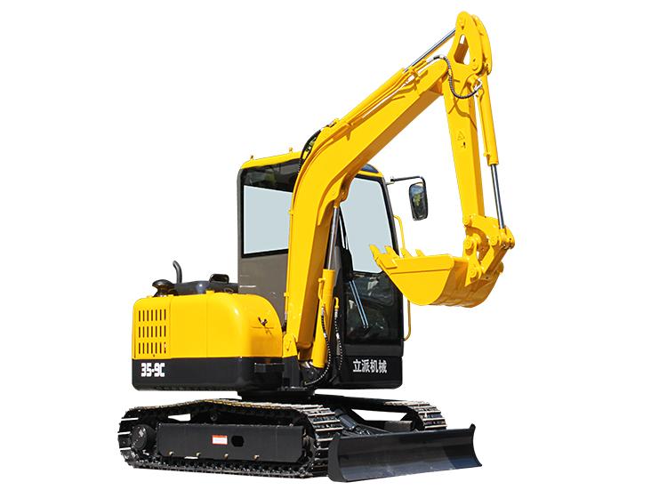 R355履带式小型挖掘机